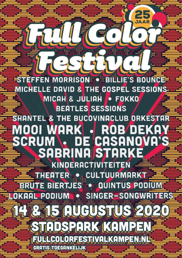 Full color festival augustus
